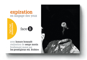 INSPIRATION un flip-book de Serge MORIN (2006 / France) - Couverture Verso