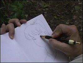 FERRANDEZ dessinant - photo