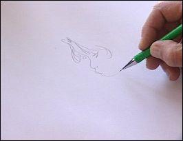 LOISEL dessinant - photo