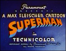 SUPERMAN - 1941 - a film of Max and Dave FLEISCHER - picture