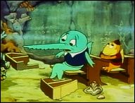 Educated Fish (1937) a film of Max and Dave FLEISCHER - picture