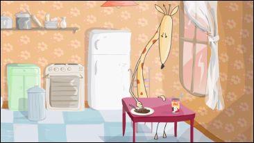 UNE GIRAFE SOUS LA PLUIE - un film d'animation de Pascale HECQUET - image 3