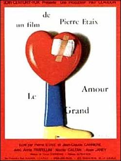 LE GRAND AMOUR - Affiche du film de Pierre ETAIX