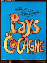 PAYS DE COCAGNE - Affiche du film de Pierre ETAIX