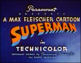 SUPERMAN - an animated series of Max & Dave FLEISCHER (USA - 1941 / 1942) - frame