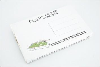 POSTCARDEN - Verso