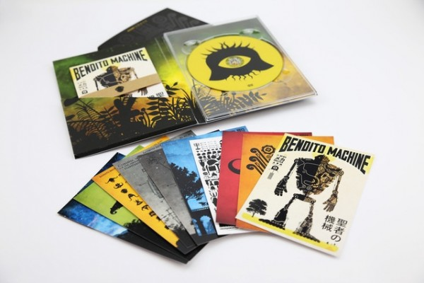 BENDITO MACHINE SAGA'S DVD and its 10 postcards