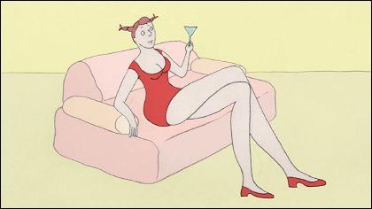TEAT BEAT OF SEX - EPISODE 1-3 un film de Signe Baumane (2007/2009 - 4 min)