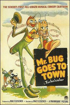 BUGVILLE - a film by Max et Dave FLEISCHER (USA - 1941) - original poster