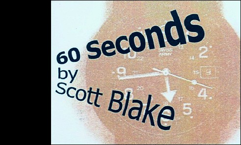The recto cover of flipbook by Scott BLAKE