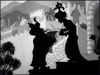 The Caliph Stork (1954) - a film by Lotte Reiniger - Picture
