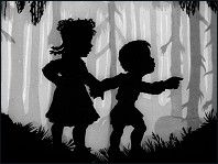 Hansel & Gretel (1954) - a film by Lotte Reiniger - Picture