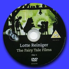 Lotte Reiniger THE FAIRY TALE FILMS - DVD 1
