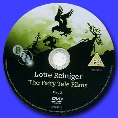 Lotte Reiniger THE FAIRY TALE FILMS - DVD 2