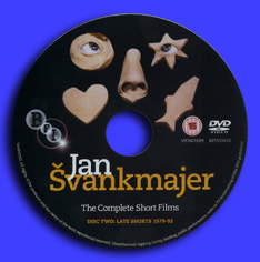 JAN SVANKMAJER The Complete Short Films - DVD 2