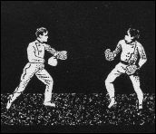 Boxing Match - animation made from a strip of MUTOSCOPE toy (France - 1900) - image 1