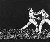 Boxing Match - animation made from a strip of MUTOSCOPE toy (France - 1900) - image 2