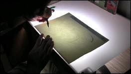 Making of Atsushi Wada - photogram film