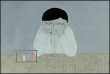 WELL, THAT'S GLASSES - a film by Atshushi Wada (Japan) - photogram film