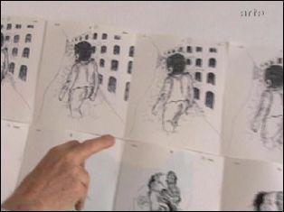 Photogramme extrait de l'émission d'ARTE