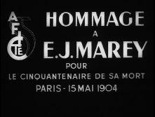 Jean Vivié : Hommage à E.-J. MAREY (1954) - image