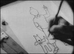TINTIN ET LE CRABE AUX PINCES D'OR - a film by Claude MISONNE (Belgium - 1947) - image 1