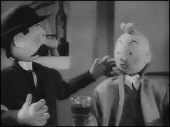 TINTIN ET LE CRABE AUX PINCES D'OR - a film by Claude MISONNE (Belgium - 1947) - image 2