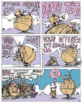 Sergent Laterreur - une bande dessinée de TOUÏS et FRYDMAN