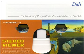 The Persistance of Memory (1931) by Salvador DALI - Stereo viewer
