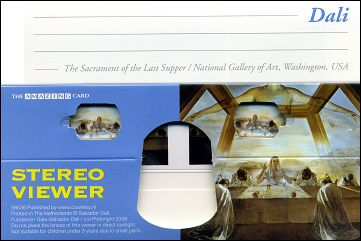 The Sacrament of the Last Supper (1955) by Salvador DALI - Stereo viewer