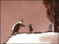 FATHER AND DAUGHTER - a film by Michael Dudok de Wit (Holland-2000) - Image 1