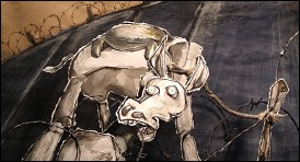 GOD ON OUR SIDE - an animation film by Uri KRANOT & Michal PFEFFER (2005 - Holland) - image