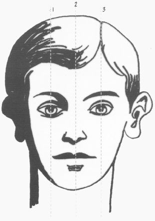Le visage de Jean impassible !