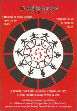 LE PHENAKISTICOPE - Carte postale