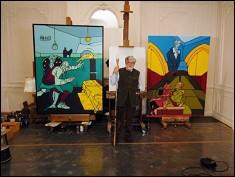 Quand l'art prend le pouvoir (2008, 2 x 26 min) - deux documentaires de François LÉVY-KUENTZ - photogramme