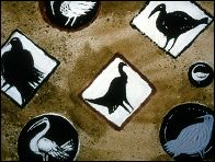 Les oiseaux blancs les oiseaux noirs (2002) - a painted animated film by Florence MIAILHE - picture