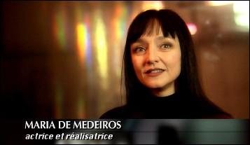 Maria de MEDEIROS - Photographic portrait