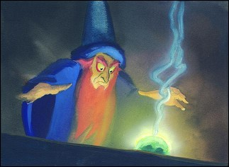 FANTASIA, The Sorcerer Apprentice - image © Disney