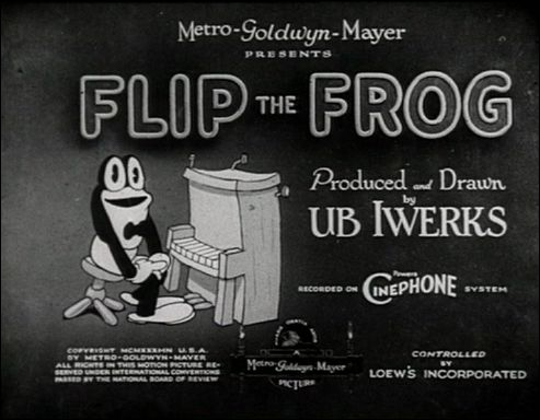 Flip the Frog, par Ub IWERKS