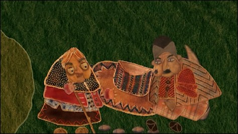 LA CITROUILLE QUI ROULE (Pumpkin that rolls) Directed by Morteza Ahadi (2011)