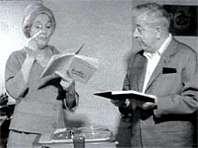 Arletty et Jacques Prévert