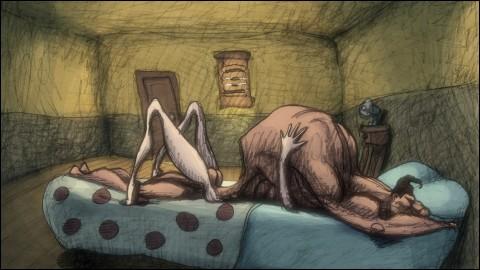 LES AMANTS ÉLECTRIQUES (Cheatin') - a film by Bill PLYMPTON - Image