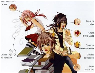 Quelques symboles graphiques du Manga