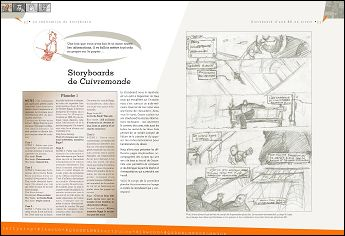 A quoi sert le storyboard ? - pages 14 & 15