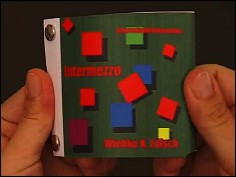INTERMEZZO - un flip book de Wiebe K. FÖLSCH (Allemagne - 2006) - couverture