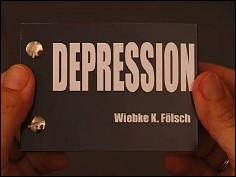 DEPRESSION - un flip book de Wiebe K. FÖLSCH (Allemagne - 2007) - couverture