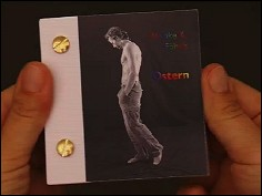 OSTERN - a flip book by Wiebe K. FÖLSCH (Germany - 2006) - cover