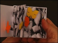 SCHMETTERLING - a flip book by Wiebe K. FÖLSCH (Germany - 2007) - cover