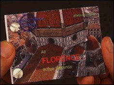 All Florence in five seconds - un flip book de Wiebe K. FÖLSCH (Allemagne - 2006) - couverture