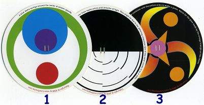 3 ROTORELIEFS by Joe FREEDMAN  (USA)